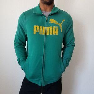 Puma Green Sweater